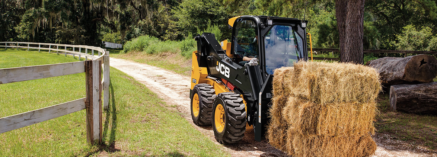 0% Interest HP over 3 years on new JCB Agricultural Skid Steer Loaders Available on machines delivered by 31.03.2019.