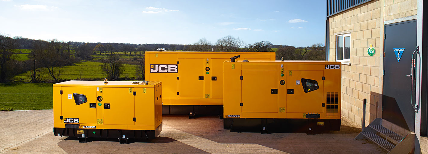 0% Interest Hire Purchase over 2 years on selected JCB Generators Available on new orders placed by 30.11.2019. UK business users only. Terms apply.