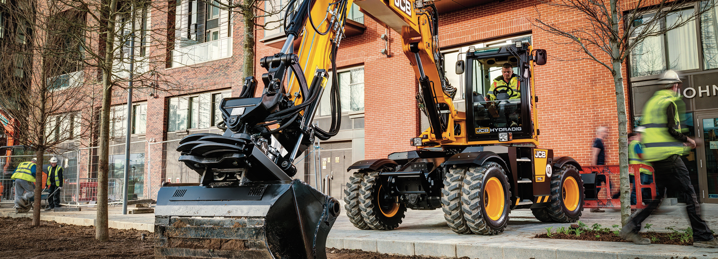 £2,000 Deposit Contribution available on JCB Hyrdradig Available delivered by 30.09.2019. UK business users only. Terms apply.