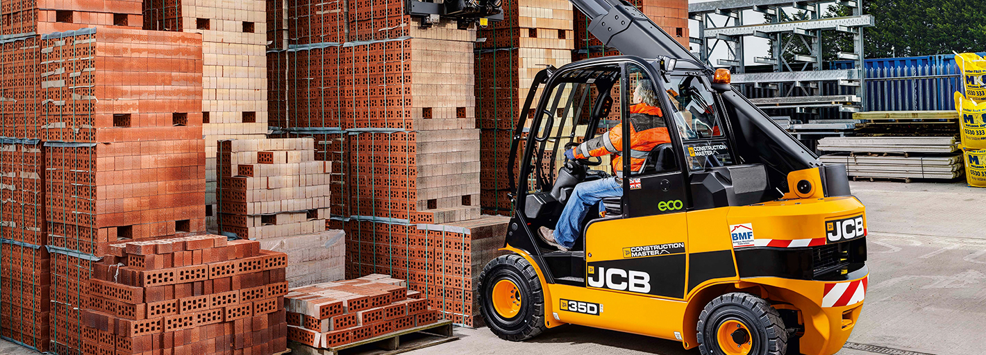 0% Interest Hire Purchase over 3 years on JCB Construction Master Teletruk Available on machines ordered by 31.10.2019. UK business users only. Terms apply