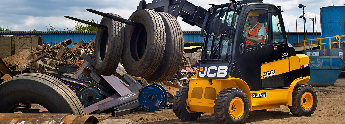 0% Interest Hire Purchase over 3 years on JCB Wastemaster Teletruk Available on machines ordered by 31.03.2020.