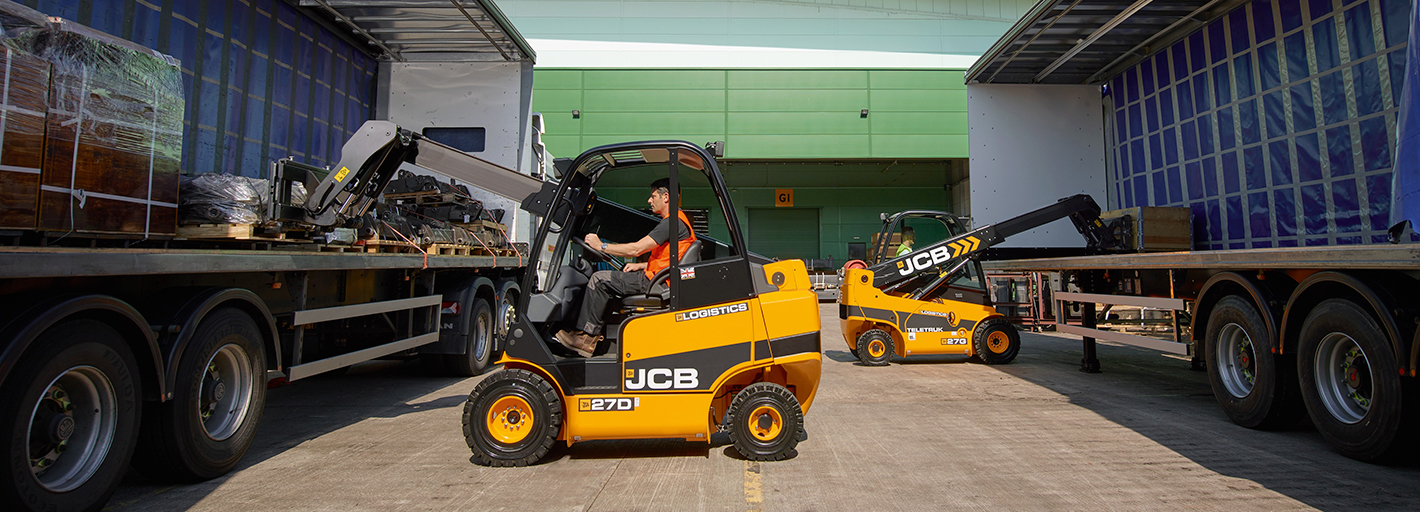 0% Interest Hire Purchase over 3 years on JCB Logistics Teletruk Available on machines ordered by 31.10.2019. UK business users only. Terms apply