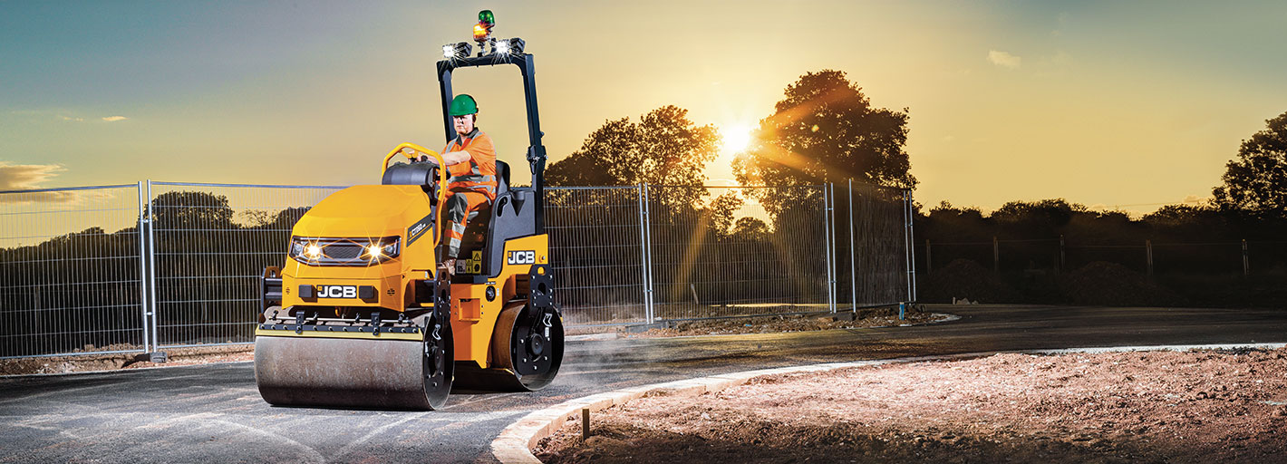 £750 Deposit Contribution Available on the first 75 JCB Compaction Rollers sold in 2020 on Hire Purchase UK business users only. Terms apply.